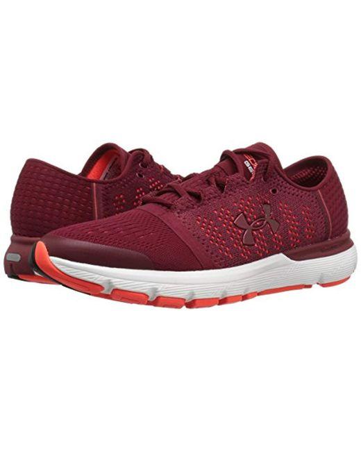 new products 8e717 8787f Men's Red Ua Speedform Gemini Vent Training Shoes
