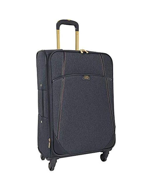 Vince Camuto Blue Hardside Spinner Luggage - 24 Inch Expandable Travel Bag Suitcase With Rolling Wheels And Hard Case for men