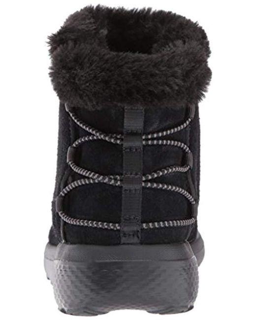 87e7e9a841bf ... Skechers - Black On-the-go City 2-hibernate Winter Boot - Lyst ...