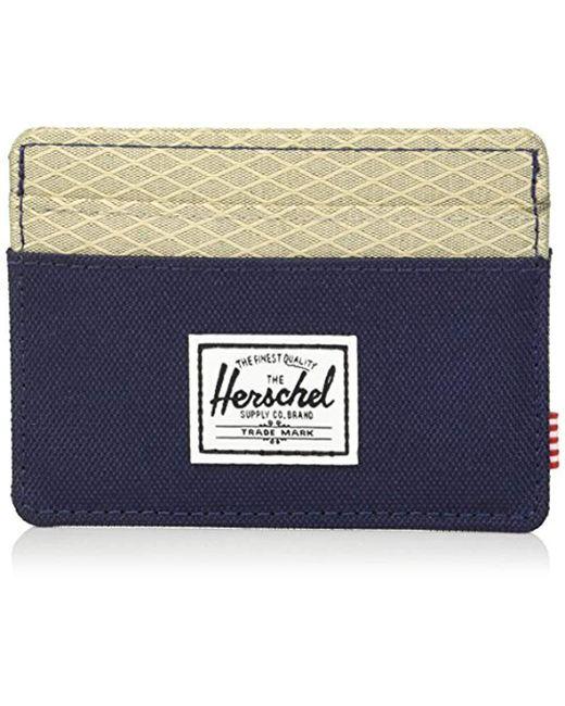 Herschel Supply Co. - Blue Charlie Rfid Wallet, - Lyst