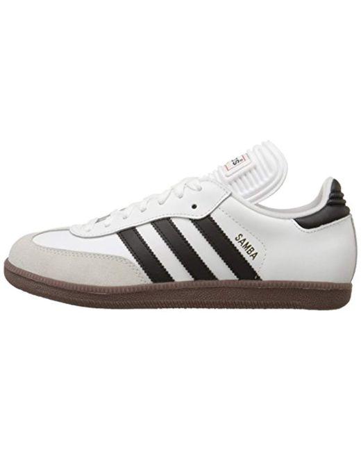 e52b3d64d83ac Men's White Samba Classic Soccer Shoes