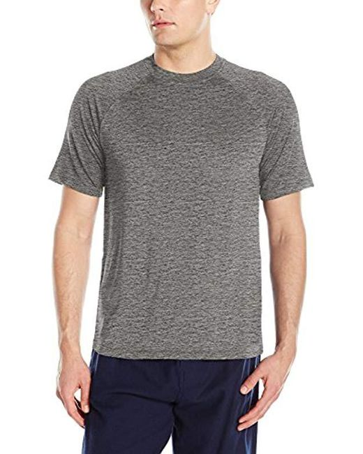 Izod - Gray Sueded Jersey & Flame Heather Shirt for Men - Lyst