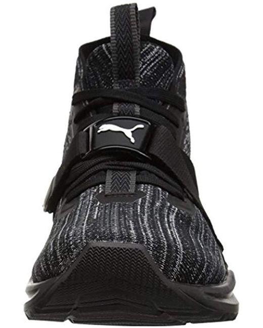 online retailer 73f26 49bcc Men's Black Ignite Evoknit 2 Sneaker