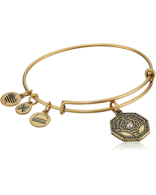 ALEX AND ANI Metallic Firefighter Bangle