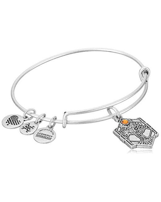 ALEX AND ANI Metallic Tree Of Life Iv Bangle Bracelet