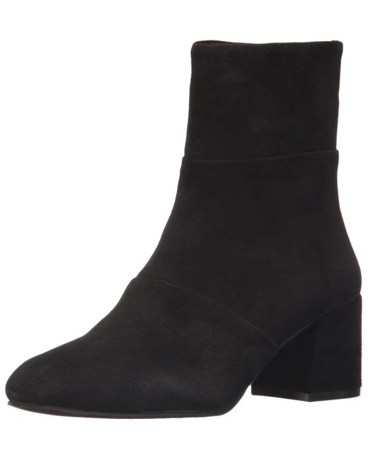 *NEW* Kenneth Cole New York Womens Suede Leather Bootie Ankle Boots Asphalt