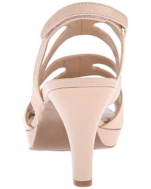 aee22236832f ... Naturalizer - Multicolor Pressley Platform Dress Sandal - Lyst ...