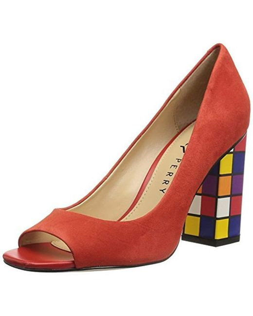 Katy Perry - Red Caitlin Pump - Lyst