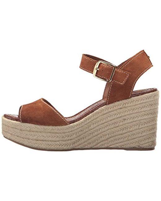 5a50dc50951 Women's Brown Dimitree Espadrille Wedge Sandal