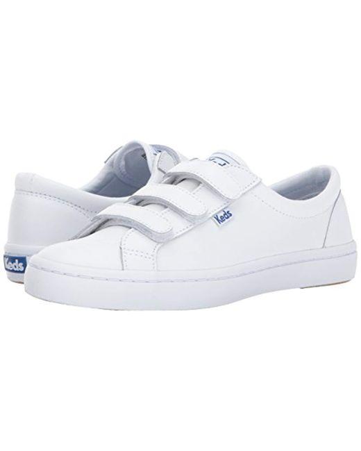 ee3bf40cd873c Women's White Tiebreak Leather Fashion Sneaker