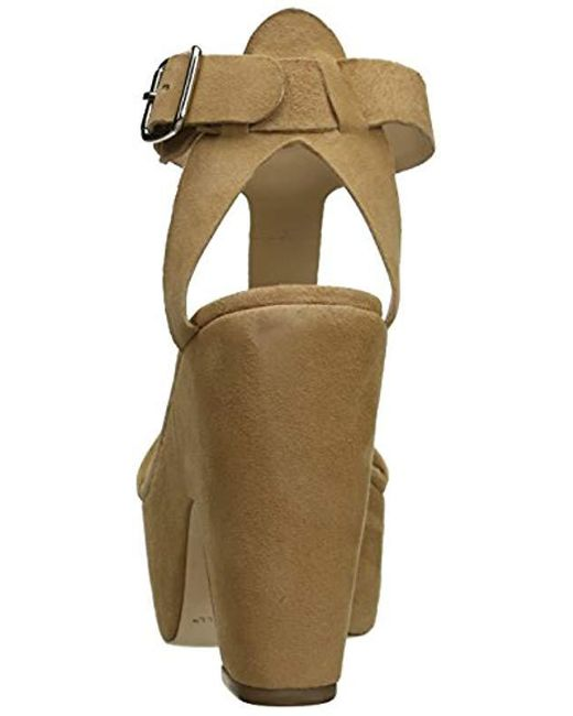 b3394fb4712a Lyst - Loeffler Randall Minette Wedge Sandal in Natural - Save 75%