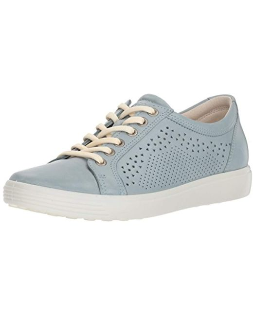 Ecco Multicolor Soft 7 Trend Tie Sneaker