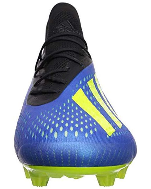 new arrival 47b21 cfcc6 Men's Blue X 18.1 Firm Ground Cleat Soccer