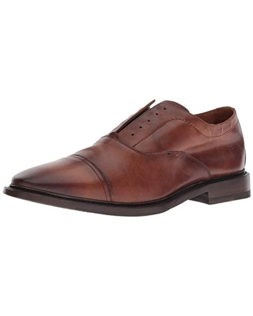 Frye - Brown Paul Bal Oxford for Men - Lyst