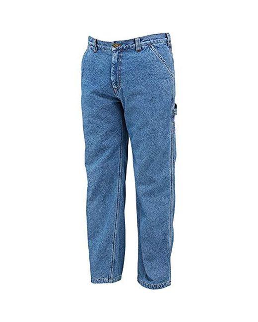 78d4b82b5b37 Lyst - Wolverine Fleece Lined Hammerloop Pant in Blue for Men - Save 35%