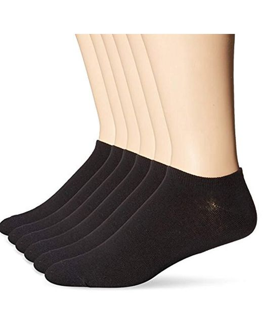 Ben Sherman - Black 6 Pack K-2 Low Cut Socks for Men - Lyst
