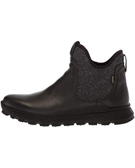 b6196ee97 Women's Black Exostrike Gore-tex Ankle Chelsea Boot