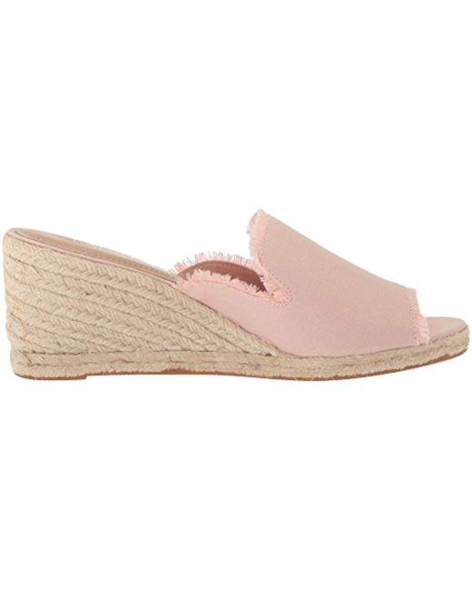 b2a50caaf319c Women's Pink Carlynda Espadrille Wedge Sandal