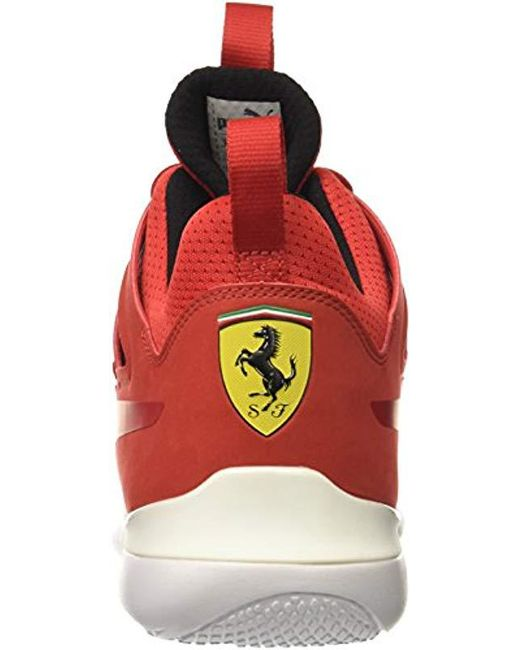 5b4fed5a3ca Lyst - PUMA Sf Evo Cat Mid Sneaker in Red for Men - Save 45%