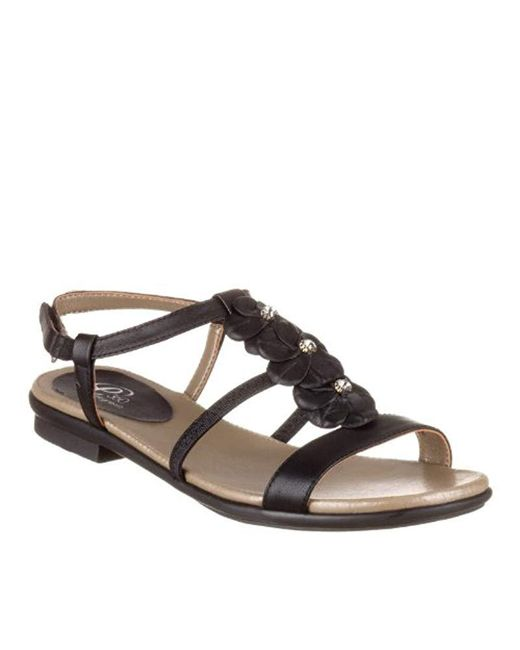 Easy Spirit - Black Karletta Dress Sandal - Lyst
