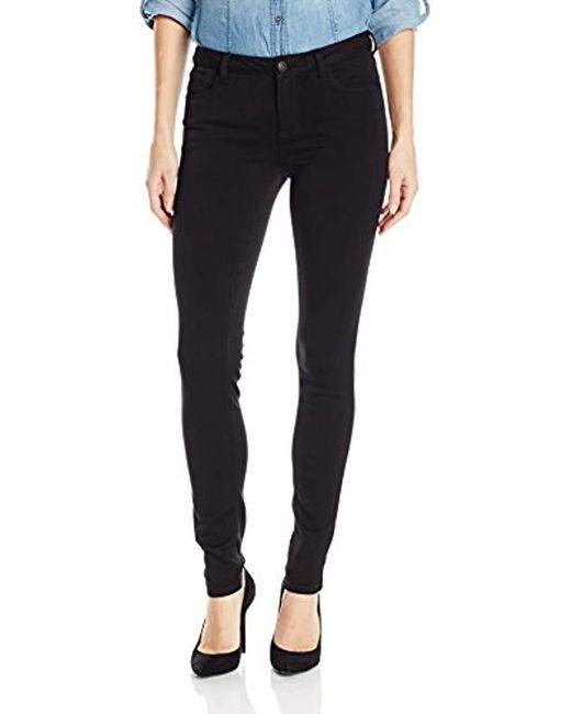 """Kensie Black Jeans Skinny Jean 30"""" Inseam"""