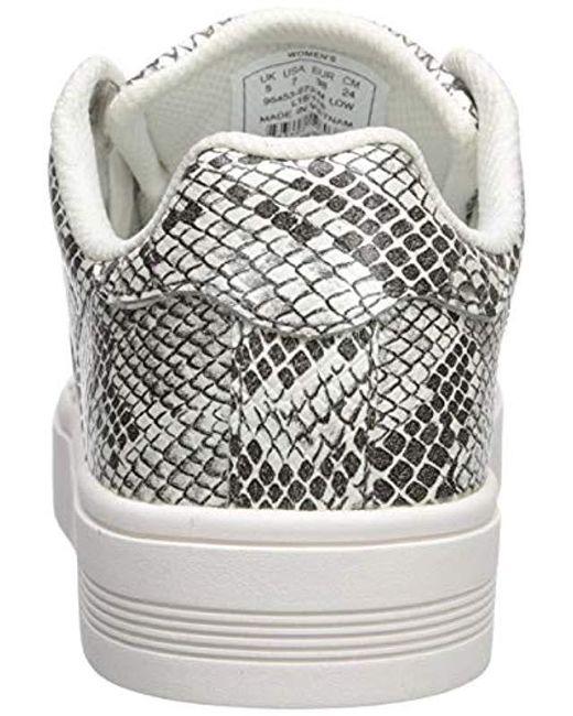 Beste Qualität K SWISS Sneakers Low Court Frasco in weiß Frauen
