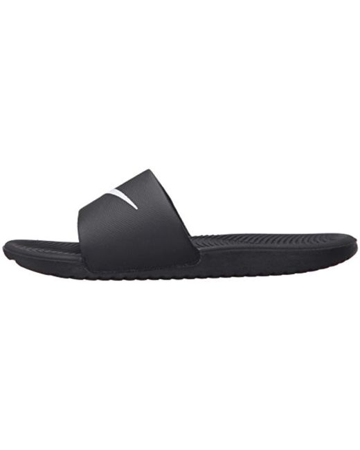 721c7ad3e66b Lyst - Nike Kawa Slide Athletic Sandal in Black for Men - Save 20%