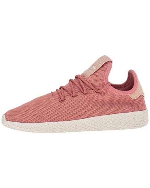 d0a25b0cc7743 ... Adidas Originals - Pink Pw Tennis Hu W Running Shoe for Men - Lyst ...