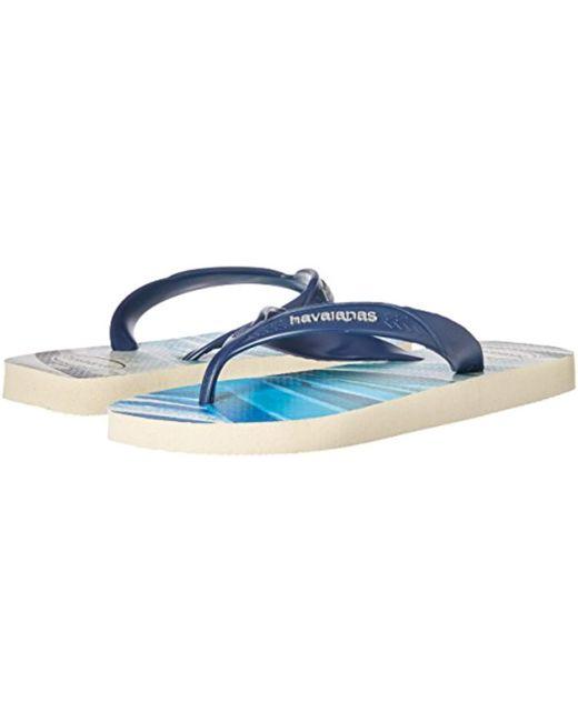 6d90f11154de1 ... Havaianas - Blue Surf Flip-flop for Men - Lyst ...