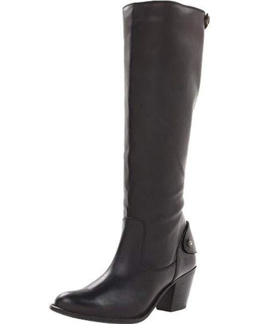 Frye - Black Jackie Zip Tall Boot - Lyst