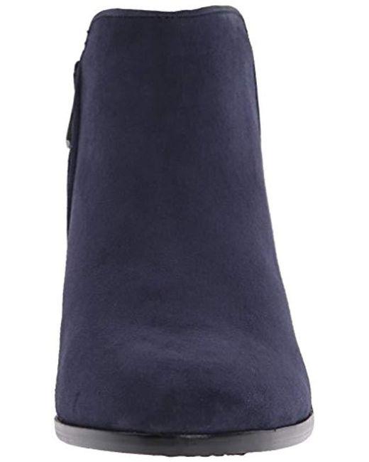 e9b221000e6d0 Lyst - Sam Edelman Petty Ankle Boot in Blue - Save 17%