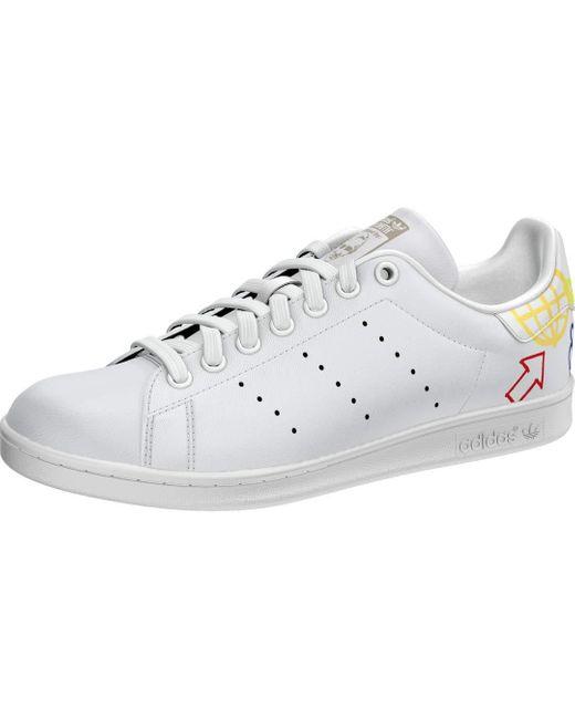 Adidas Originals White Womens Stan Smith Sneaker