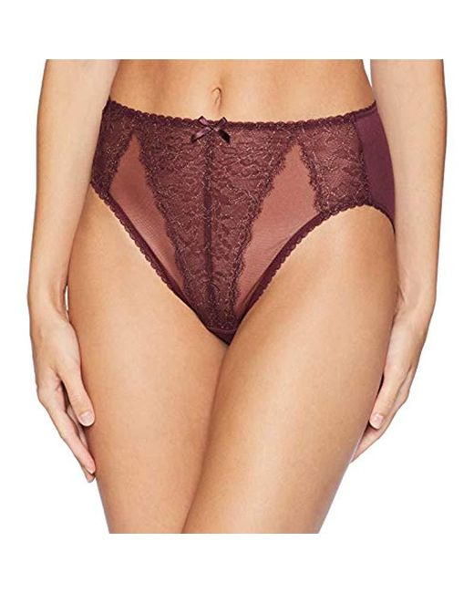 Cappucino or Toast Wacoal Retro Chic High Cut Brief Knickers Pant 841186 Black
