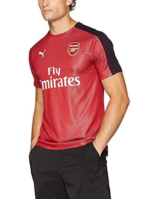 9f3b3e2db PUMA - Red Arsenal Fc Stadium Jersey Ss With Epl Sp for Men - Lyst ...