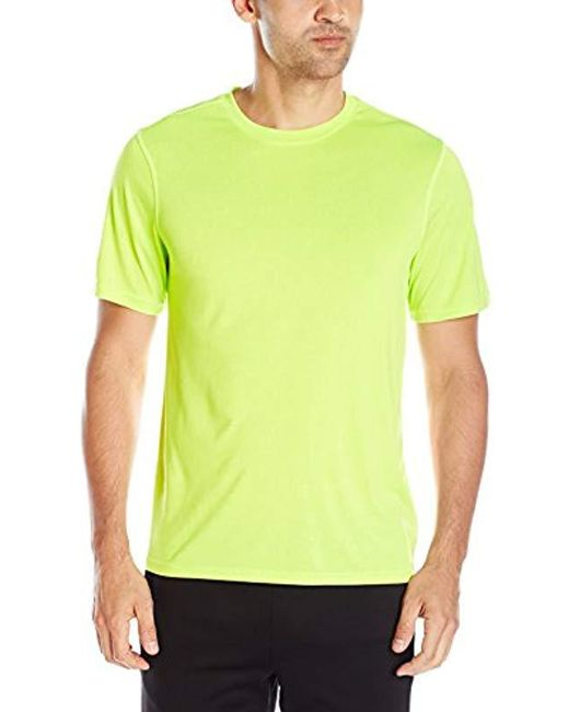 Hanes - Green Sport Heathered Performance T-shirt for Men - Lyst
