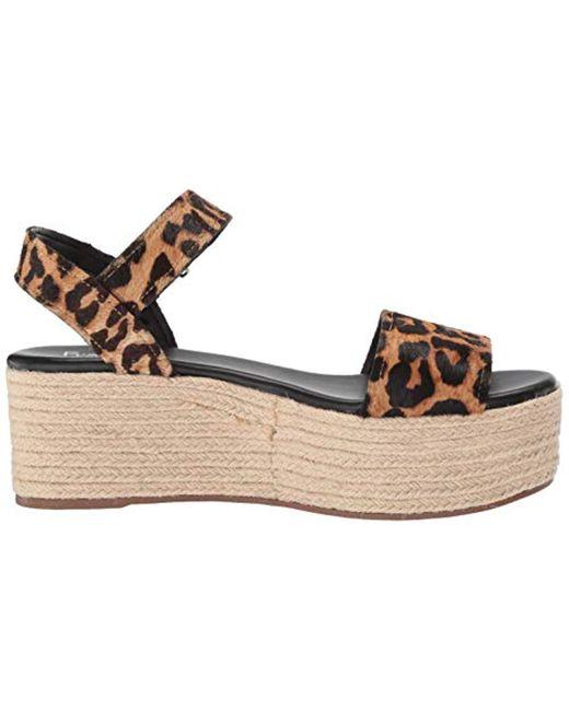 Ben Espadrille Platform Sandal