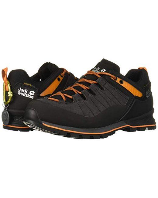 online here shopping presenting Jack Wolfskin Leather Scrambler Xt Texapore Low Waterproof ...