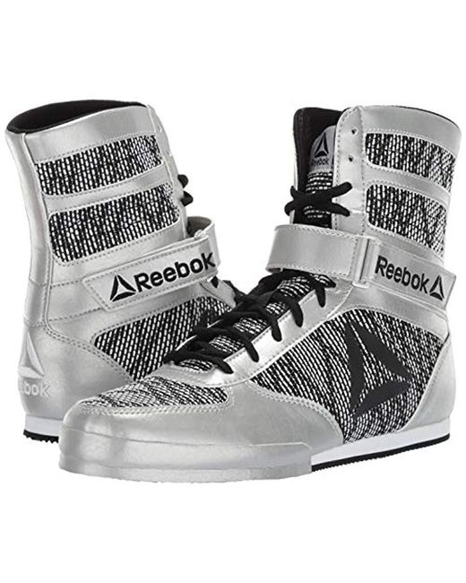 5215bc16545 Lyst - Reebok Boot Boxing Shoe in Black for Men - Save 3%