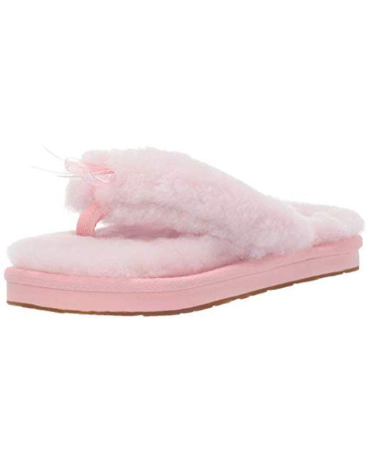 7ef7c457f3f Women's Pink W Fluff Flip Flop Iii Slipper