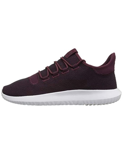 new concept 84abc 8a289 ... Adidas Originals - Purple Tubular Shadow Running Shoe, Maroon vapour  Grey white, ...