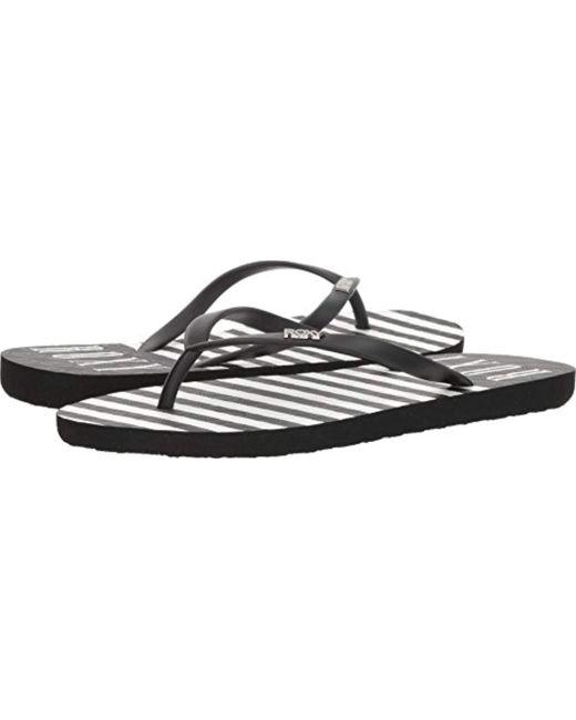 Roxy - Black ''s Viva Stamp Ii Beach & Pool Shoes - Lyst