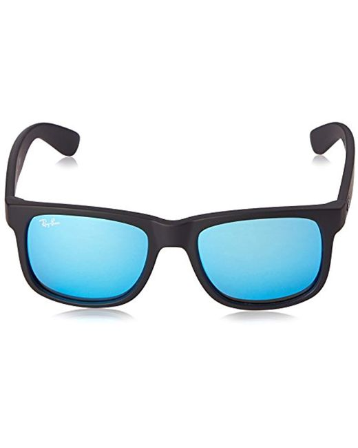 58c5205db4 ... Ray-Ban - Blue Justin Sunglasses (rb4165) Plastic for Men - Lyst ...