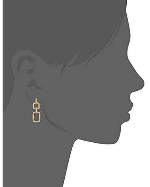 Judith Jack - Metallic Sterling Silver Teardrop Earrings - Lyst