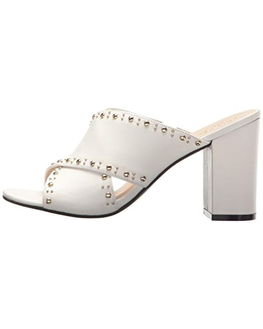 fecb5f3b642 Lyst - Cole Haan Gabby Stud Sandal Heeled in White - Save 56%