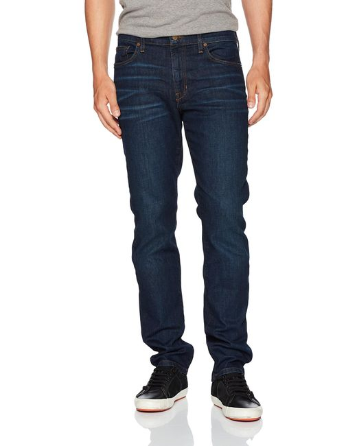 Joe's Jeans Blue Brixton Straight And Narrow Jean In Harding for men
