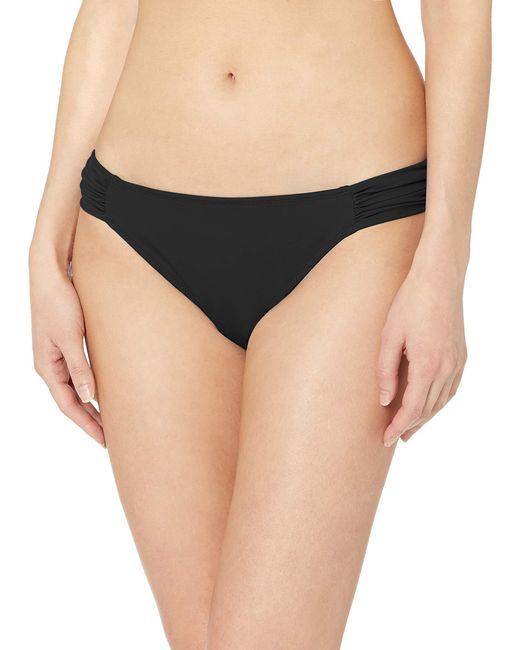 Side Tab Bikini Bottom Fashion-Swimsuit-Bottoms-Separates Amazon Essentials de color Black