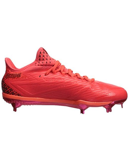 uk availability 24676 3b5a8 ... Adidas - Red Performance Adizero Afterburner 4 for Men - Lyst ...