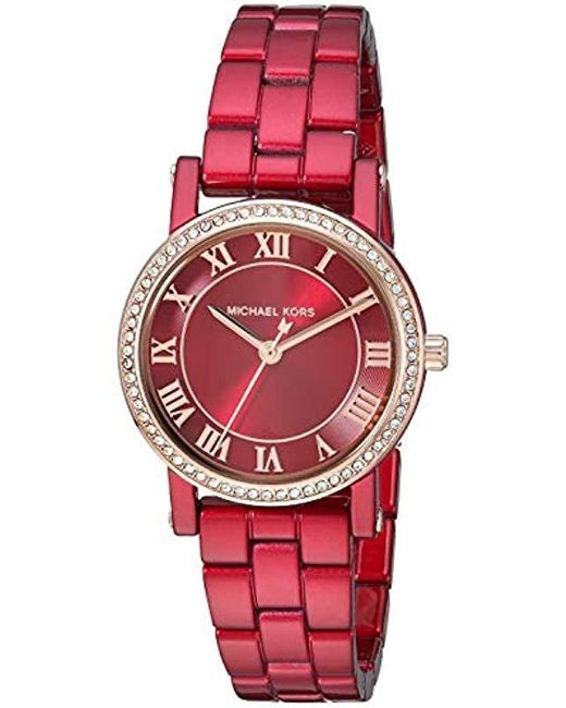 3623082af9f2 Michael Kors - Norie Analog-quartz Watch With Stainless-steel-plated Strap