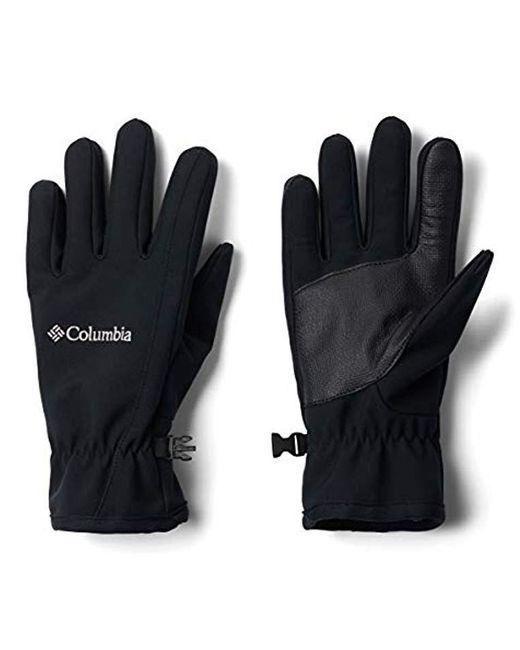 Columbia Black Kruser Ridge Softshell Glove