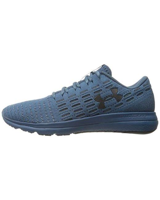 best service c7932 28124 Men's Blue Threadborne Slingflex Sneaker